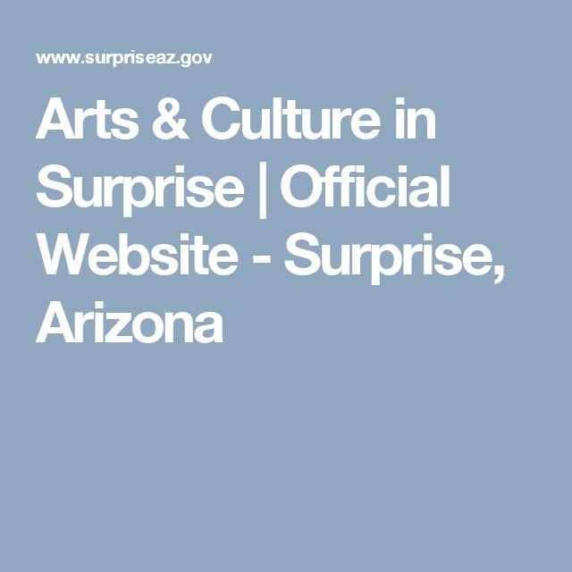 Arts & Culture in Surprise   Official Website - Surprise, Arizona