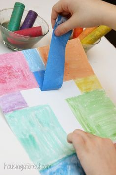 Easy Cross Craft for Kids ~ Easter Craft