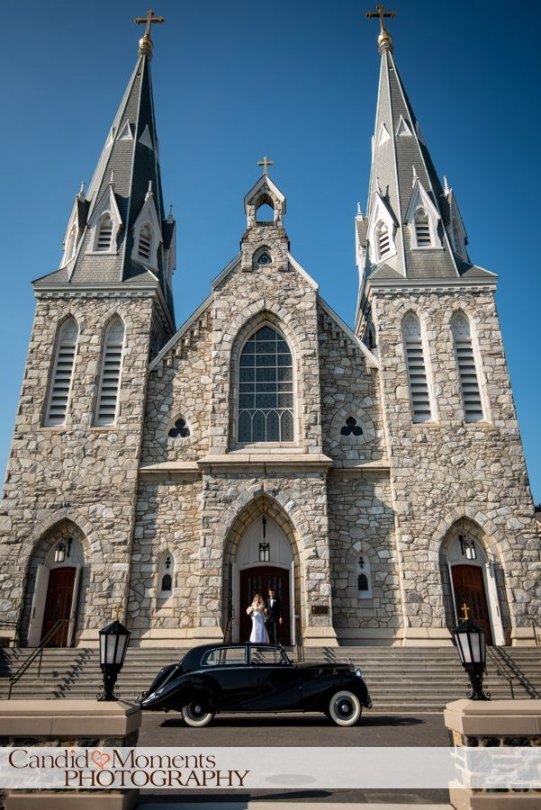 Villanova Chapel Wedding Ceremony Wedding Photography Candid