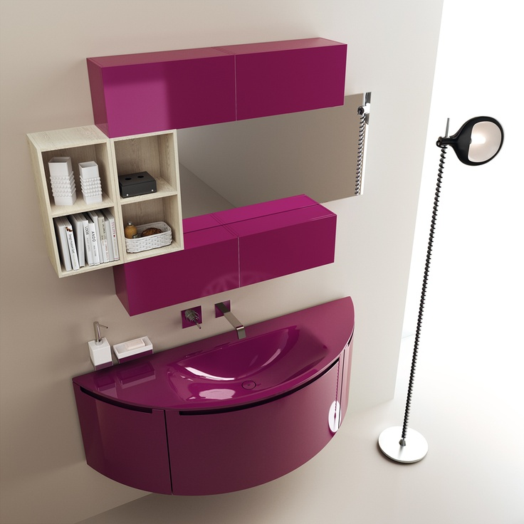 #kylpyhuone #scavolini #decorkylpyhuoneet #kylpyhuonekalusteet #sisustus  Idro kylpyhuonekaluste Scavolini Idro Collection by #Scavolini #Bathrooms | Amethyst