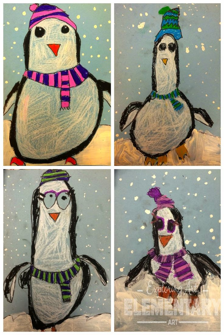This would be a fun directed drawing activity for elementary students in January!