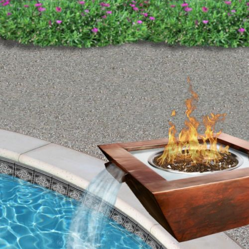 31 Best Pool Fire Bowls Images On Pinterest Fire Bowls Copper And Cast Stone