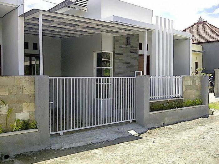 Model Halaman Rumah Minimalis Type 36 Content