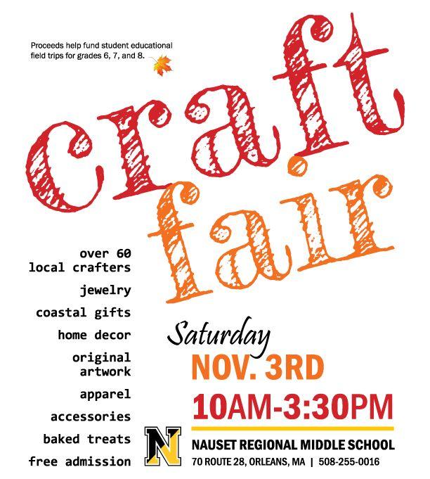 Craft Fair At Nauset Craft Fairs Crafts