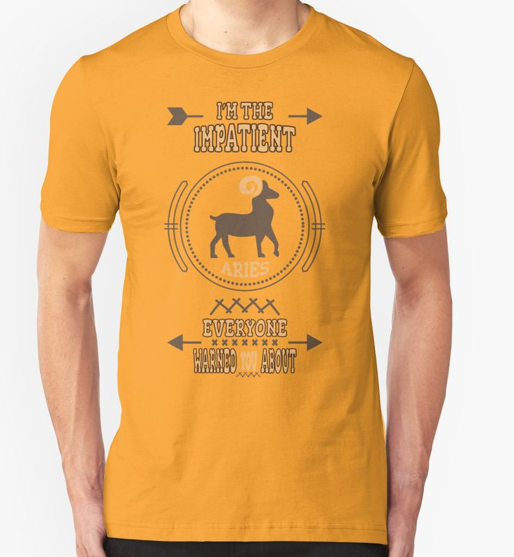 Impatient Aries Zodiac T-Shirt