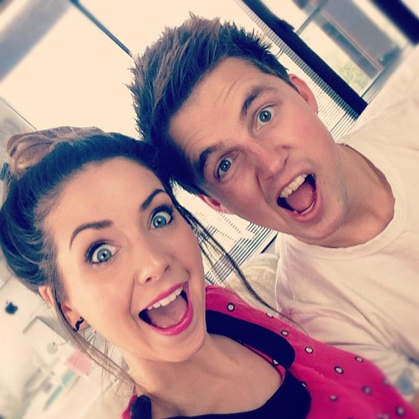 Zoella and Marcus