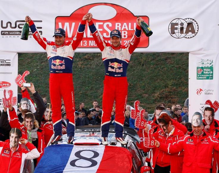 Sébastien Loeb 8 huit fois champion du monde WRC