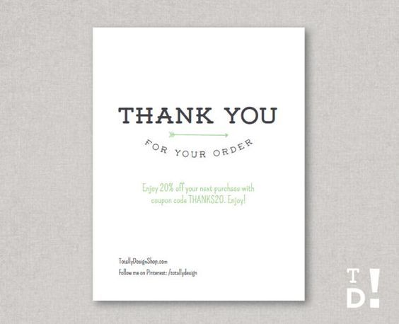 57 best packing images on Pinterest Business thank you cards