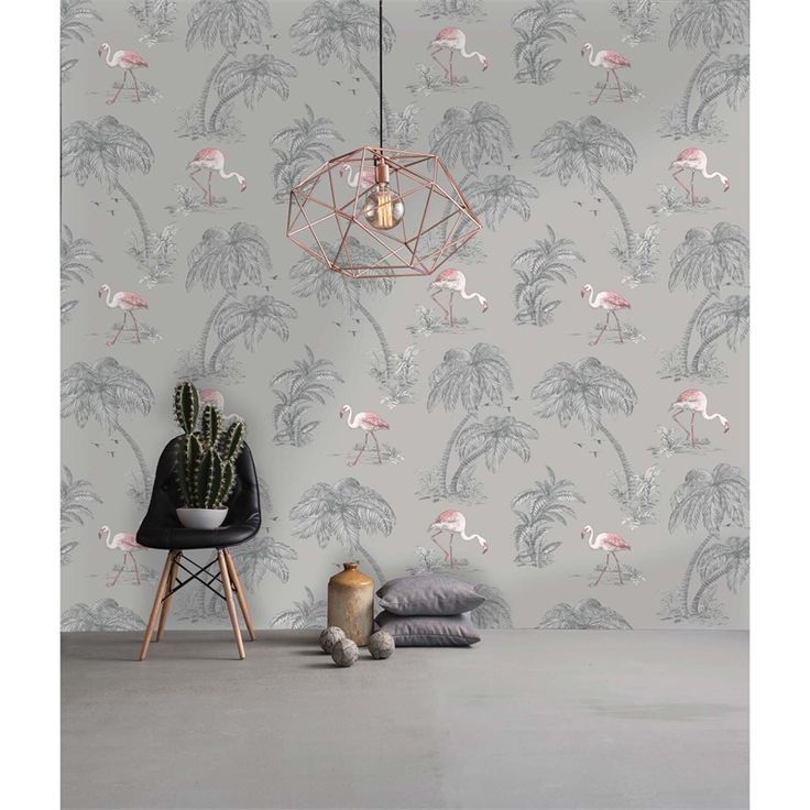 Find Holden Flamingo Lake Grey Wallpaper at Homebase. Visit your local store for the widest range of paint & decorating products.