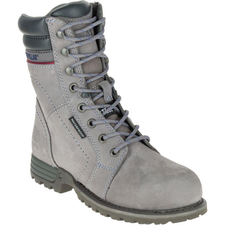 CATERPILLAR Women's Echo Waterproof Steel Toe Boots