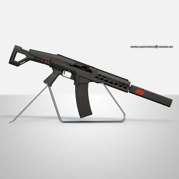 Weapon and guns/ artist/modeler: Merzlyakod Denis merzliakovdenis@yandex.ru