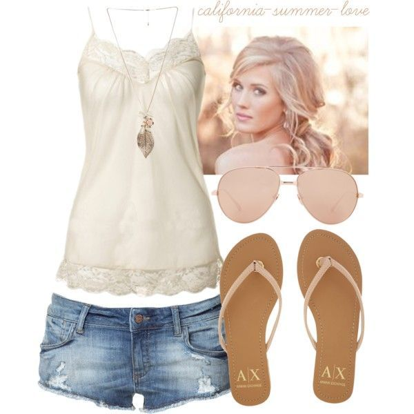"""Cute Summer Outfit"" by california-summer-love on Polyvore"
