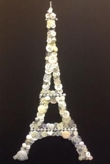 Jewelry Craft Ideas - Pandahall.com button eiffel tower paris