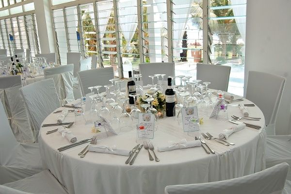 The Safran restaurant at Coco Ocean Coco Ocean's wedding co-ordinator Mary Dymore-Brown organises her own ceremony in The Gambia, of course there was only one choice for the location of her wedding, the Coco Ocean Resort and Spa.