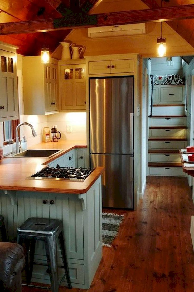 Best 25+ Tiny house kitchens ideas on Pinterest  Small house kitchen ideas, Tiny living and