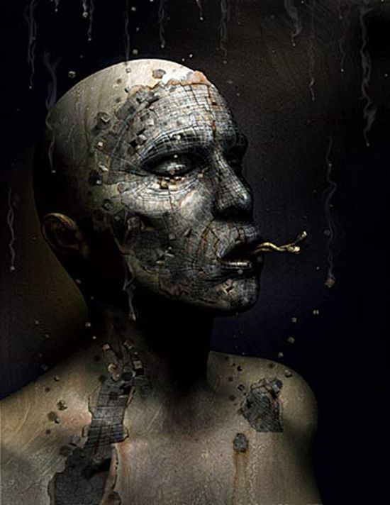 Dark digital art by David Ho - ego-alterego.com