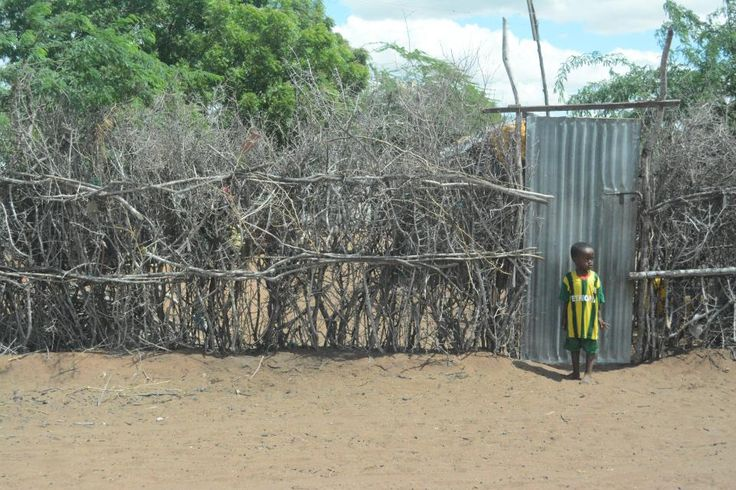 A child at the Dadaab refugee camp