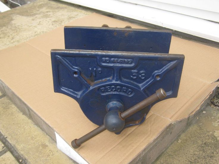 A LARGE CARPENTER'S WOODWORKING VICE BY RECORD NUMBER 53 WITH QUICK RELEASE | eBay