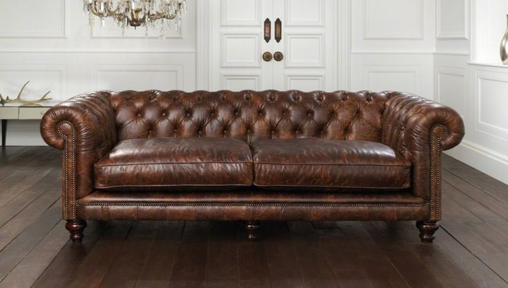 Chesterfield Leather Sofas For Sale