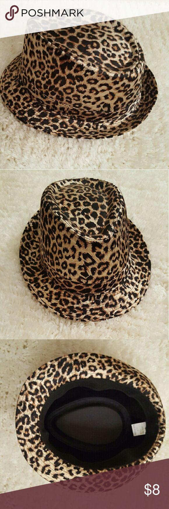 Leopard Stylish Hat! Let me hear you roar!! Accessories Hats