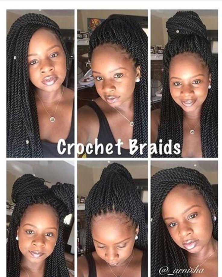 Crochet Senegalese Twist