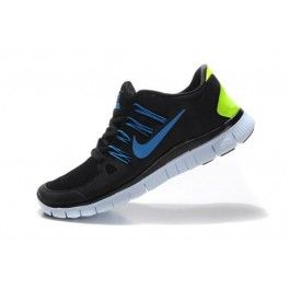 Nike Free 5.0+ Herresko Svart Grønn | Nike sko tilbud | billige Nike sko på nett | Nike sko nettbutikk norge | ovostore.com