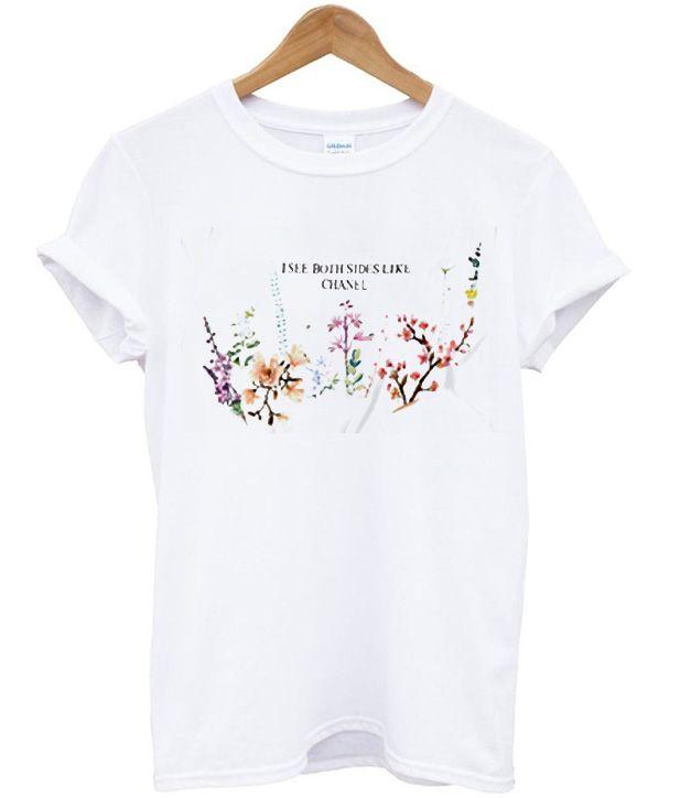 Custom Flower Shirt Personalized Spring Shirt Custom Spring Flower Shirt Girly Flower Shirt