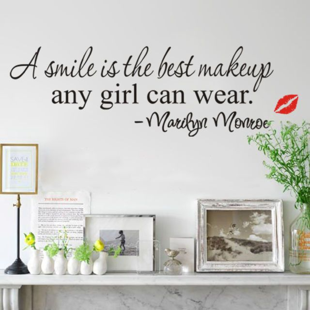 a smile is the best makeup...