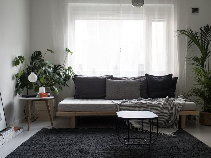 diy daybed in my living room menu fuwl cage table broste copenhagen nor rug