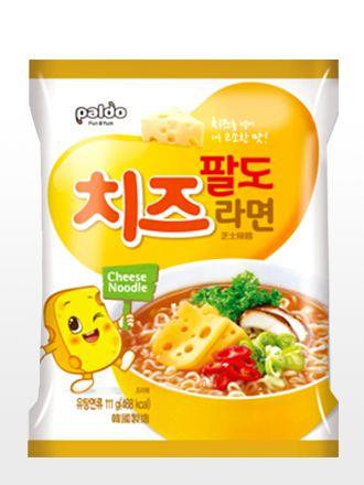 Ramen Coreano de Queso | Cute Cheese Ramyun  Ramen coreano elaborado con sopa de…