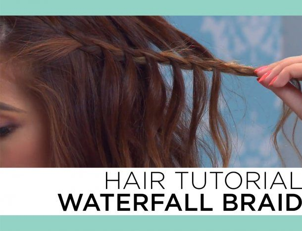The Easiest Way to do a Waterfall Braid