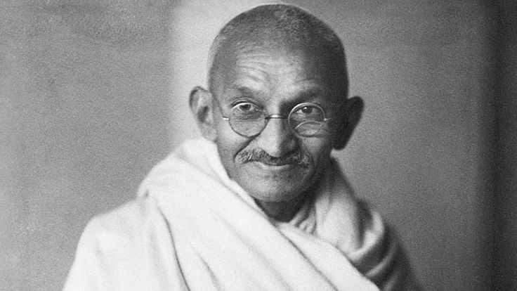 Gandhi, like many great men and women before him, drew his strength from his spiritual life.