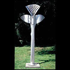 "Pierless Soul by Molly Mason (Metal Sculpture) (110"" x 50"")"