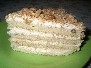 Самые легкие рецепты вкусных тортов