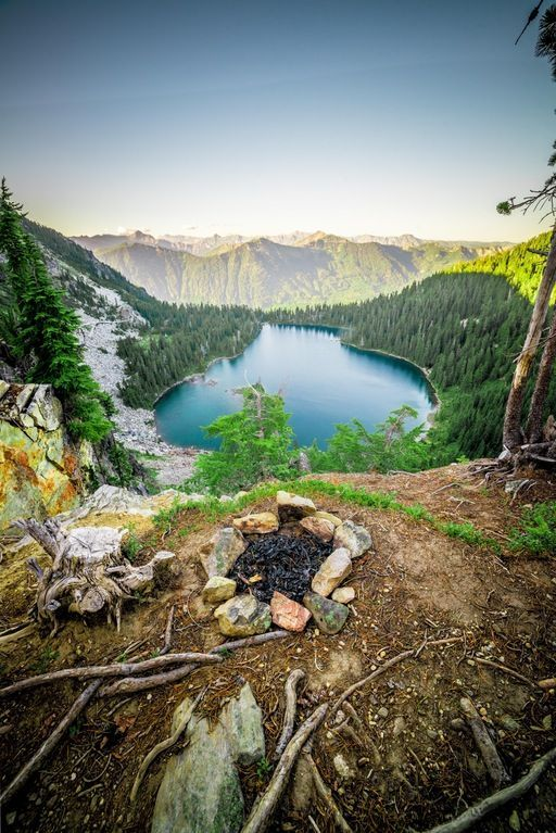 Lake Theseus in the Central Cascades of Washington State