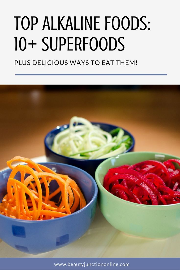 Discover the top alkaline foods and delicious ways to eat them!
