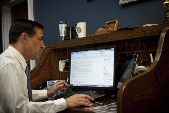 Rep. Darrell Issa does Reddit Q&A about ACTA, piracy laws, & more
