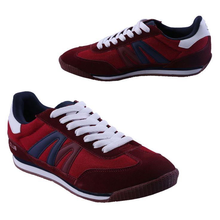 Heren Jogging Schoenen Bordeaux RoodHTS001 | Modedam.nlDe mooiste heren schoenen bestelt u in onze winkel. Bij ons vindt u verschillende betaalbare sneakers, nette schoenen en sport schoenen. U vindt gegarendeerd de exclusieve schoenen die u outfit compleet maakt. Bekijk ons collectie!!! Er is