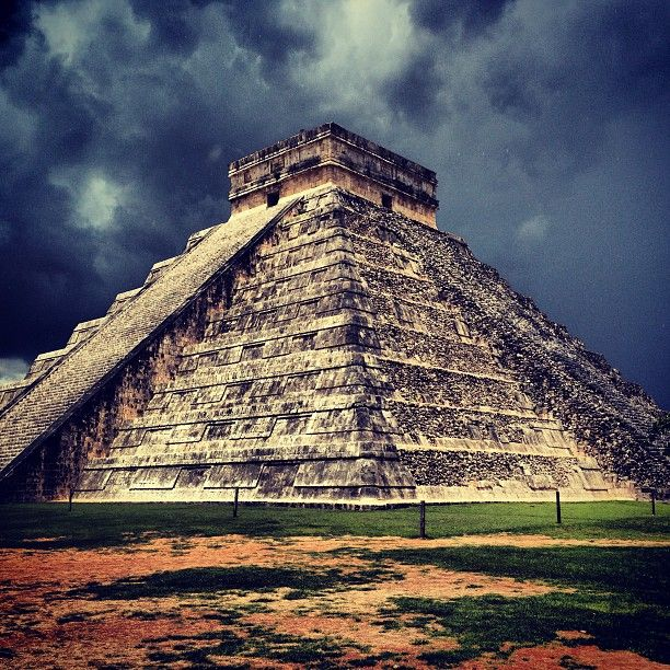 Seeing the ancient ruins at Chichen Itza.