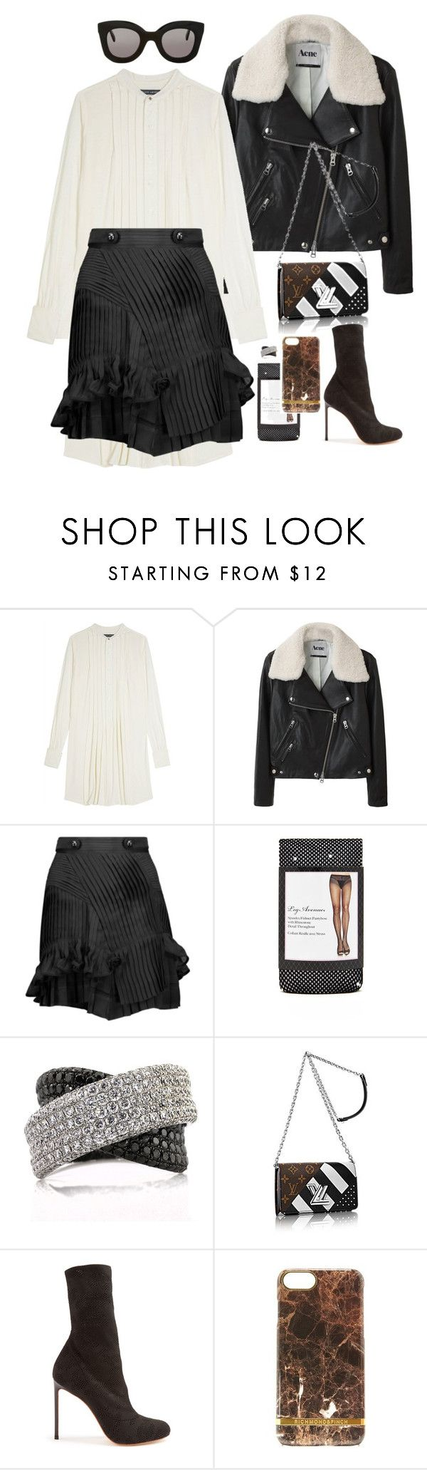 """""""Untitled #1069"""" by loveraige ❤ liked on Polyvore featuring Ralph Lauren, Acne Studios, Isabel Marant, Forever 21, Mark Broumand, Francesco Russo, Richmond & Finch and CÉLINE"""