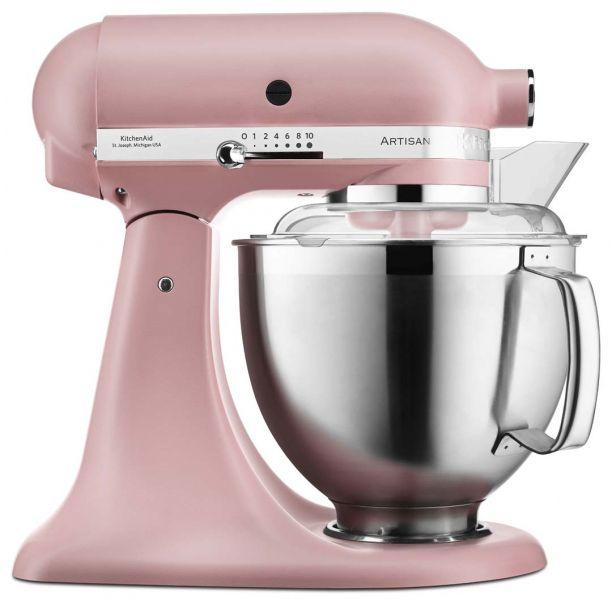 Bestill Artisan Stand Mixer 4 8l Altrosa Fra Kitchenaid Kitchenaid Artisan Kitchenaid Kjokkenmaskiner