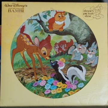 Walt Disneys Bambi Picture Vinyl Record What Fun Times