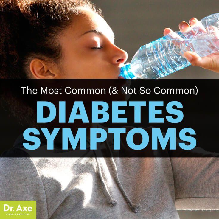 Diabetes symptoms - Dr. Axe