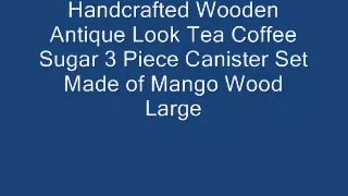 tea coffee sugar sets - YouTube