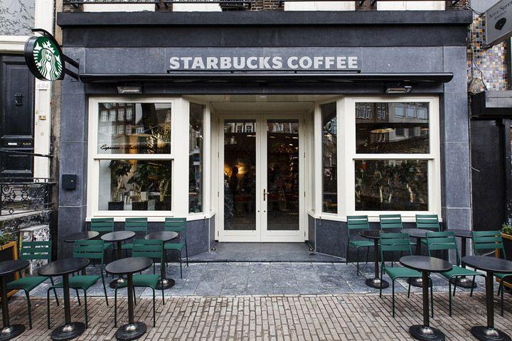 Starbucks Flower Market by Starbucks Design team, Amsterdam