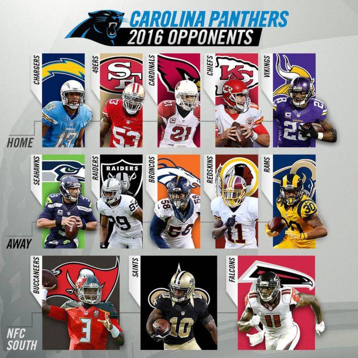 Carolina Panthers TV Schedule 2016 #carolinapanthers #panthers #nfl