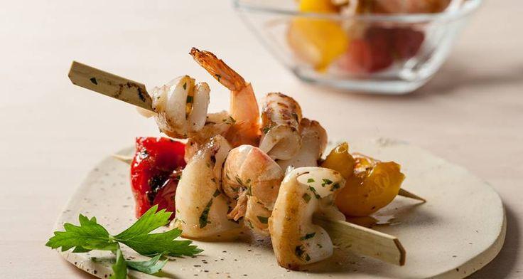 Spiedini di pesce  #Star #ricette #ricettedastar #food #recipes #yummy #foodporn #delicious #foodie #eat #foodgasm #foodpic #cookin #fish #pesce #spiedini #autumn #autunno #november