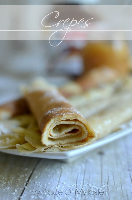 PlaceOfMyTaste: THE BEST CREPES RECIPE