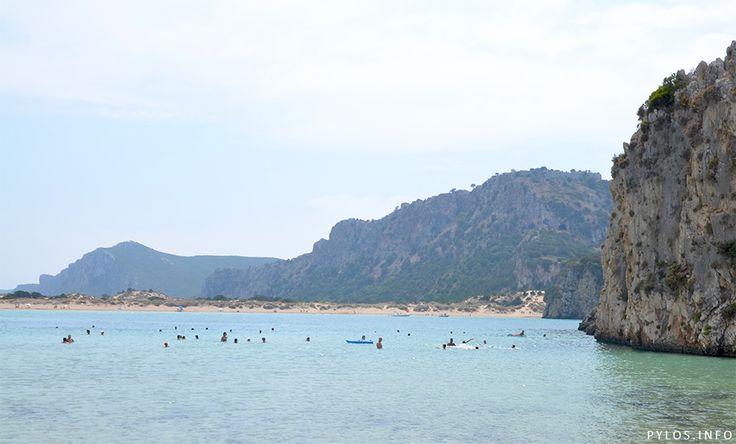View to Voidokoilia beach. Have a great Weekend! http://pylos.info  #pylos #navarino #visitgreece #messinia #peloponnese #greece #travel