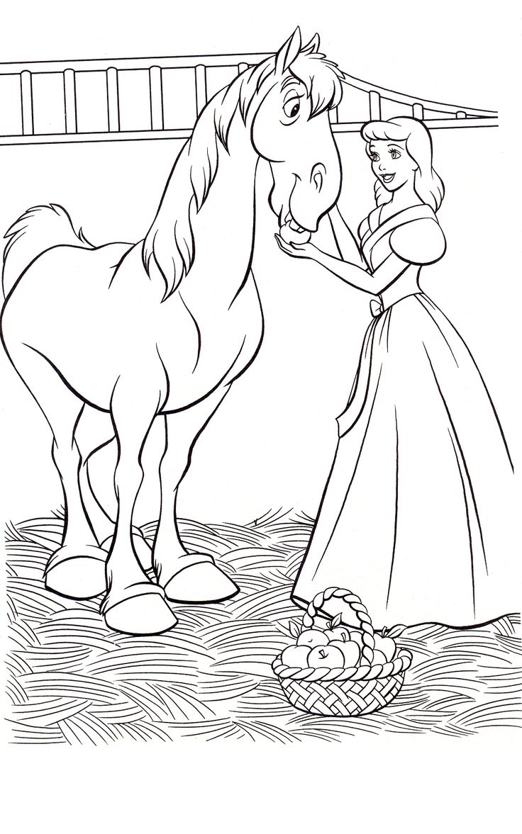 134 best cinderella images on pinterest drawings coloring
